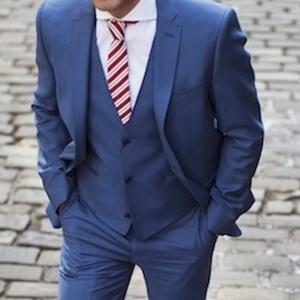 Tintorería traje caballero