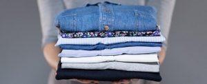 Lavandería de camisas y pantalones